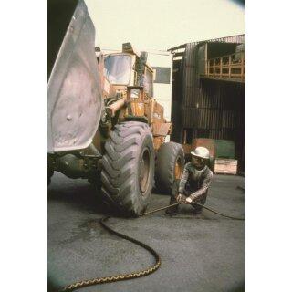 """Continental Goldschlange Wasserschlauch Industrie Gummi EPDM 25 mm 1"""" 40m Rollenware"""